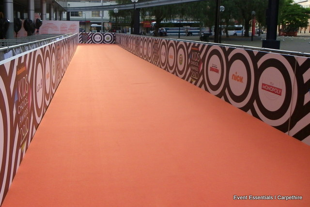 Orange Carpet Entrance