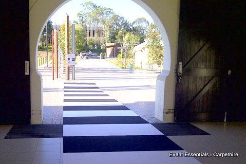 Black and White Striped Carpet, Taronga Zoo