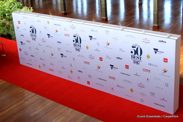 3 metre high, 9 metre wide double-sided media wall