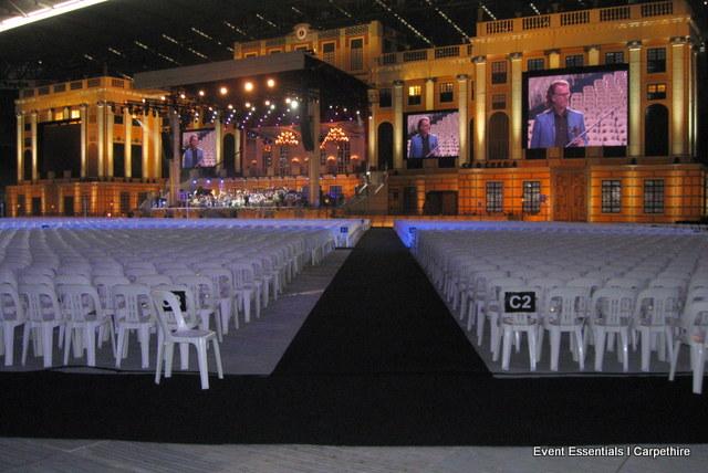 Black Carpet, Andre Rieu Concert