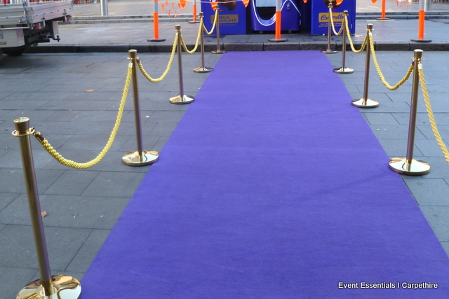 Purple Carpet Entrance, Sydney