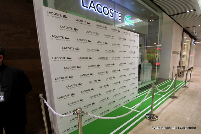 Customised Green Carpet, Media Wall, Staging, Crowd Control
