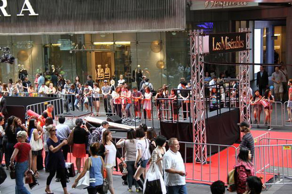 Red Carpet Premiere, Les Miserables