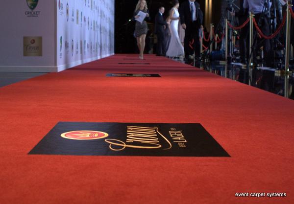Red Carpet Entrance for Awards Ceremony, Crown