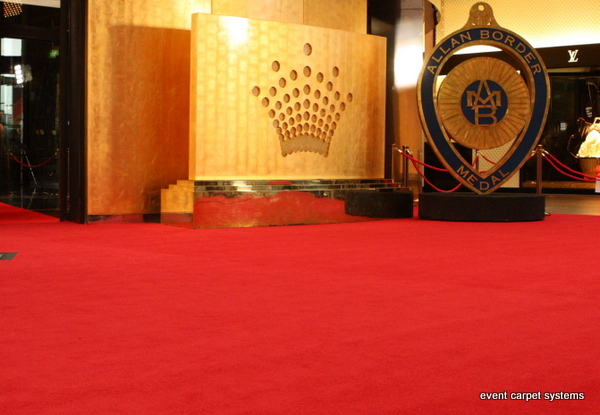 Red Carpet Entrance for Awards Ceremony, Crown