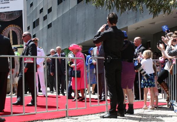 Red Carpet - Royal Visit Federation Square, Melbourne