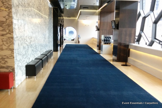 Navy Blue Carpet Entrance Melbourne Event Essentials