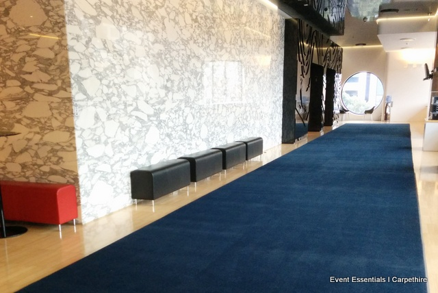 Navy Blue Carpet Entrance Melbourne Event Essentials